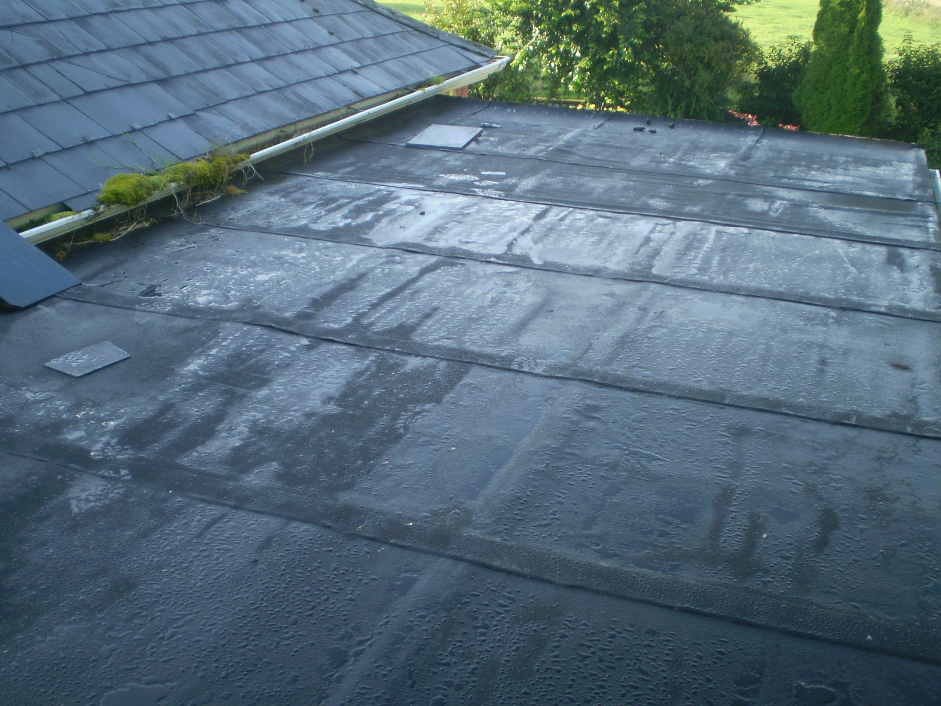 Roof Repair Before